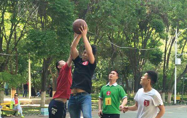 东方王朝酒店趣味篮球赛圆满落幕